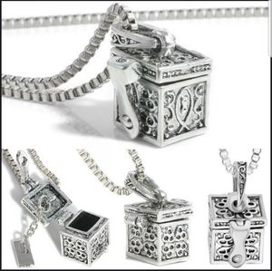 Jewelry - 🆕 NWT Retro Cremation Pendant Love box necklace